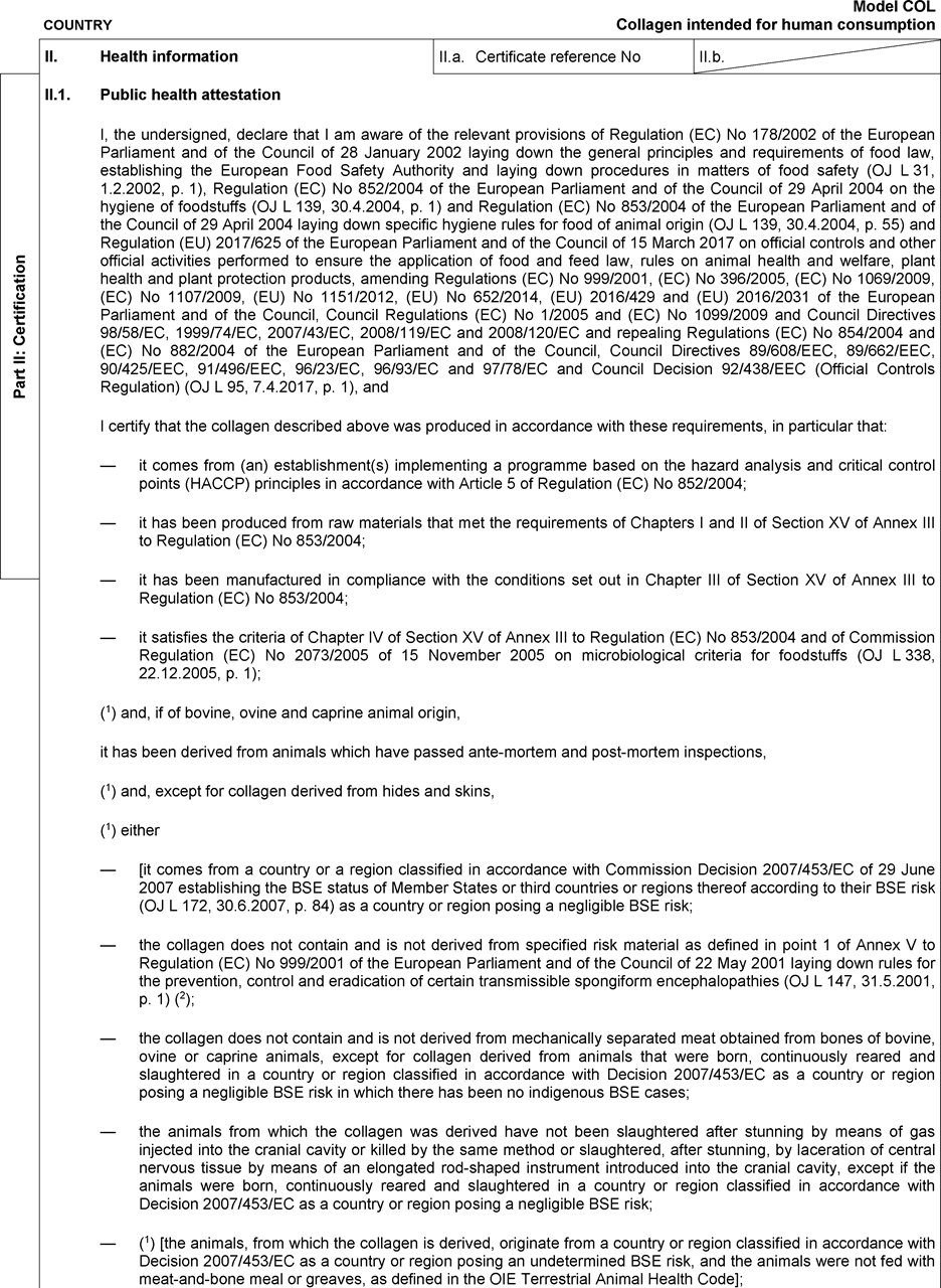 Part P Certificate >> Commission Implementing Regulation Eu 2019 628 Of 8 April