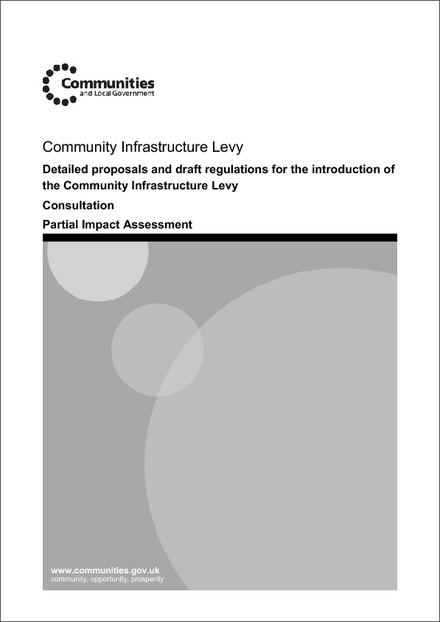 Impact Assessment to The Community Infrastructure Levy Regulations 2010