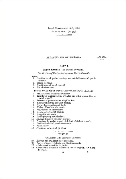 Local Government Act 1894
