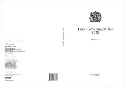 Local Government Act 1972