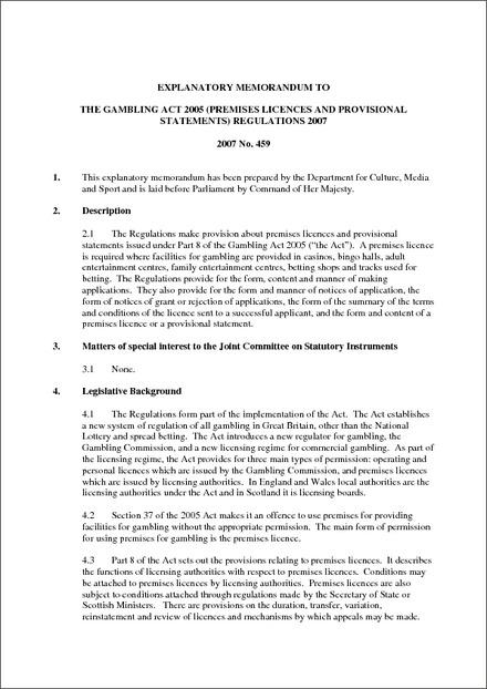 Uk gambling act 2005 pdf casino gulfstream