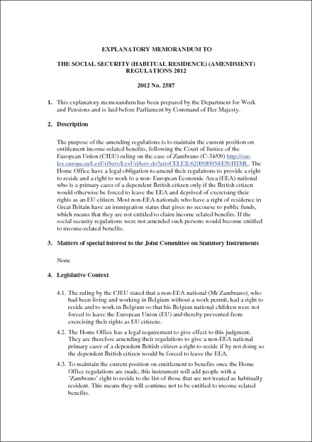 Social Security Amendments of 1965