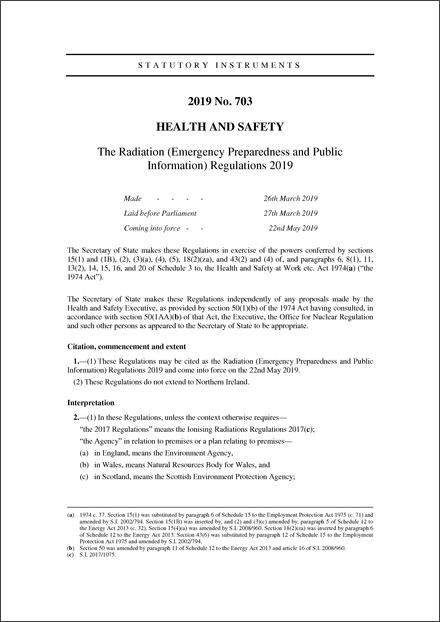 the radiation  emergency preparedness and public